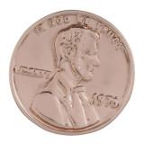 20MM Gran persona complemento Joyería antigua de chapado en oro rosa KB8114