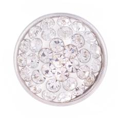 Small size snaps Style chunks with rhinestone