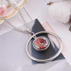 20MM snap glass Twelve constellations-VERGO C0036 interchangable snaps jewelry