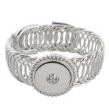 Bouton Partnerbeads 1 encliquetable ajustement de bracelet en métal brise KC0622
