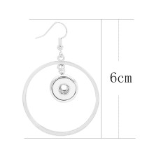 snap Earrings fit 12MM snaps style jewelry KS1259-S