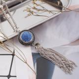 18mm Sugar Snaps Alloy mit hellblauen Strasssteinen KB2312 Snaps Jewelry