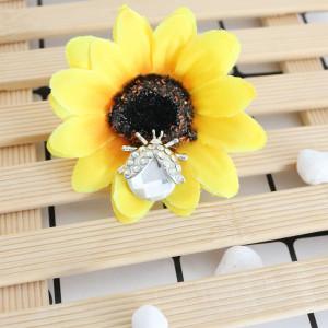 20MM Ladybug snap silver Chapado con diamantes de imitación blancos KC7666 se ajusta a presión