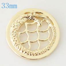 33 mm Alliage Coin fit Médaillon bijoux type038