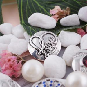 20MM valentine snap love KC5098 snaps interchangeables bijoux