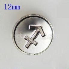 12MM Ancrage instantané KB7220-S plaqué argent bijoux