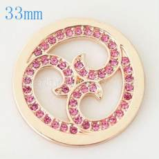 33 mm Alloy Coin fit Medaillon Schmuck Typ033