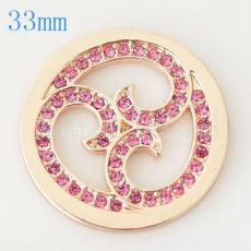 33 mm Alloy Coin fit Locket jewelry type033