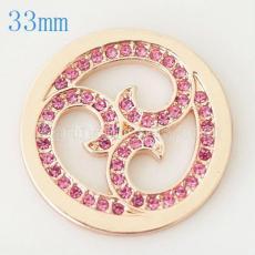 33 mm Alloy Coin fit Medaillon Schmuck Typ033