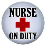 Infirmière 20MM C5149 en métal émaillé peint, impression de boutons-pression