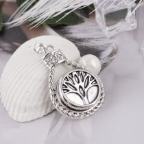 20MM Life of tree snap Antique Silver Plated KB5409 snaps jewelry