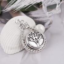 20MM La vie de l'arbre snap KB5409 plaqué argent antique s'enclenche les bijoux