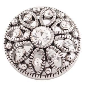 20MM оснастка апрель. Белый камень KC5048 сменные защелки ювелирные изделия