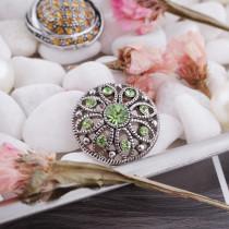 20MM snap Aug. birthstone green KC5052 interchangable snaps jewelry