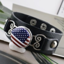 20MM Bandera nacional Metal esmaltado pintado C5350 estampado broches joyería