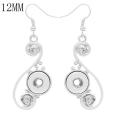Snap Ohrring Fit 12MM Snaps Style Schmuck KS1254-S