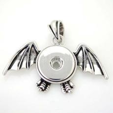 Хэллоуин Кулон из ожерелья в стиле защелки ; Хэллоуин, летучая мышь, демон