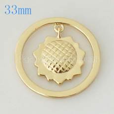 33 mm Alloy Coin fit Medaillon Schmuck Typ010