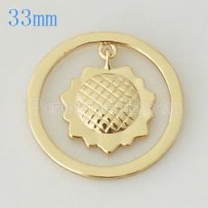 33 mm Alloy Coin fit Locket jewelry type010