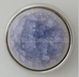 20MM Ceramic Purple Snap Versilbert KB5283 Snaps Schmuck