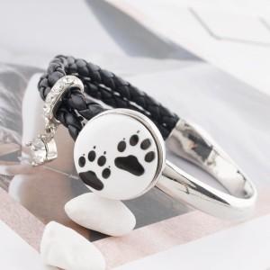 20MM Коготь собаки Покрашенная эмаль, металл C5368 принт с защелками