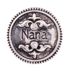 20MM nana/mother snaps Antique Silver Plated  KB6882 snaps jewelry