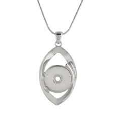 Collier pendentif avec chaîne 45CM KC1046 s'encliquette bijoux