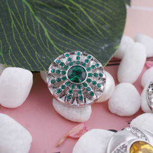 20MM оснастка мая камень зеленый KC5063 сменные защелки ювелирные изделия