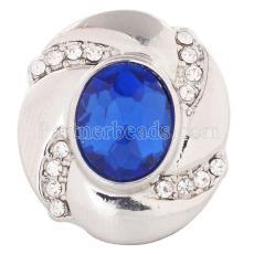 20MM snap Sep. birthstone deep blue KC5079 interchangable snaps jewelry