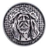 20MM Glaube Snap Antik Silber vergoldet KC5169 austauschbare Snaps Schmuck