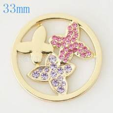 33 mm Alloy Coin fit Medaillon Schmuck Typ027