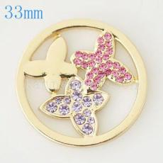 33 mm Alloy Coin fit Locket jewelry type027