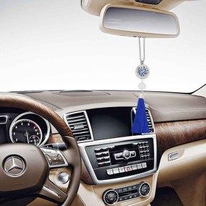 28mm acero inoxidable perfume de coche aromaterapia aceite esencial Colgante ambientador transpirable decorativo