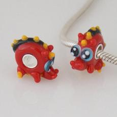 partner S925 murano lampwork glass beads