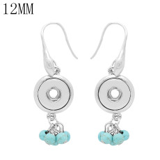 snap Earrings fit 12MM snaps style jewelry KS1271-S