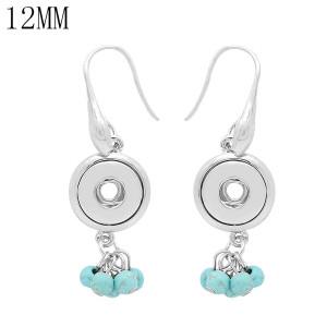 snap Earrings fit 12MM snaps style jewelry KS1271-S