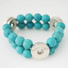 turquoise bracelets Fit 18/20mm snaps chunks