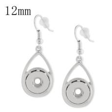 Snaps metal earring KS1131-S fit 12mm chunks snaps jewelry