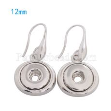 Snaps metal earring KS0979-S fit 12mm chunks snaps jewelry