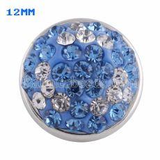 小さなサイズのスナップブルーのラインストーンKS2715-Sを使用したスタイルチャンク