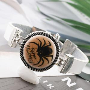 20MM Halloween Painted  enamel metal C5464 print  snaps jewelry