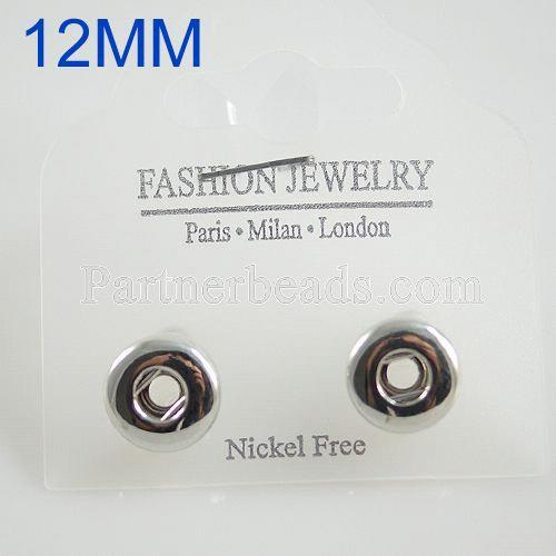Fit 12mm Snaps Earrings encaja en trozos de broches