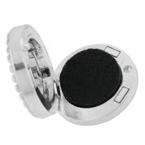 22mm alliage blanc Paw Aromatherapy / Diffuseur de parfum d'huile essentielle Diffuseur de médaillon avec disques 1pc 15mm comme cadeau