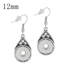 Snaps metal earring KS1134-S fit 12mm chunks snaps jewelry