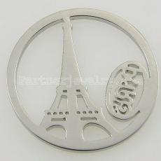 Подвески из нержавеющей стали 33MM подходят для ювелирных украшений парижской башни
