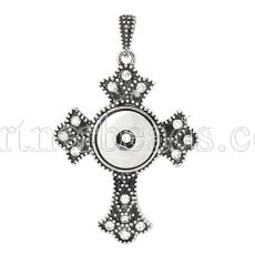 Pendant of necklace fit snaps style 18mm/20mm chunks jewelry