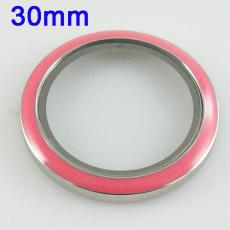 Stainless Steel Screw Cap for the Card holder dia 30mm Locket FL3551