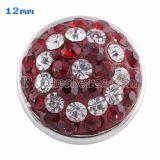 Broches de tamaño pequeño Trozos de estilo con diamantes de imitación rojos KS2713-S