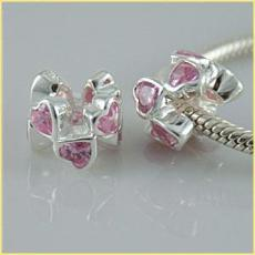 partner sterling silver beads with CZ stones mother