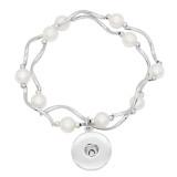Boutons 1 Avec bouton pression ajustable avec agrafe perle naturelle, bijoux KC0841